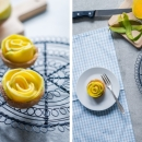 Mango Rose Tartlets