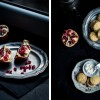 Mini Scones and Pomegranate Curd