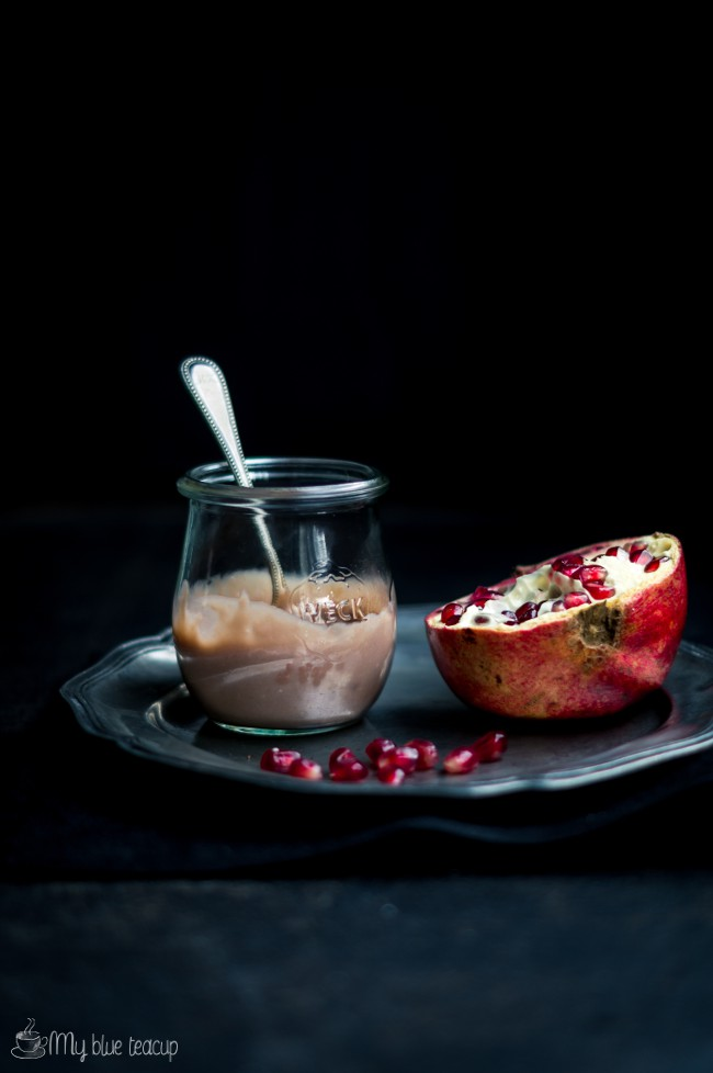 pomegranate curd