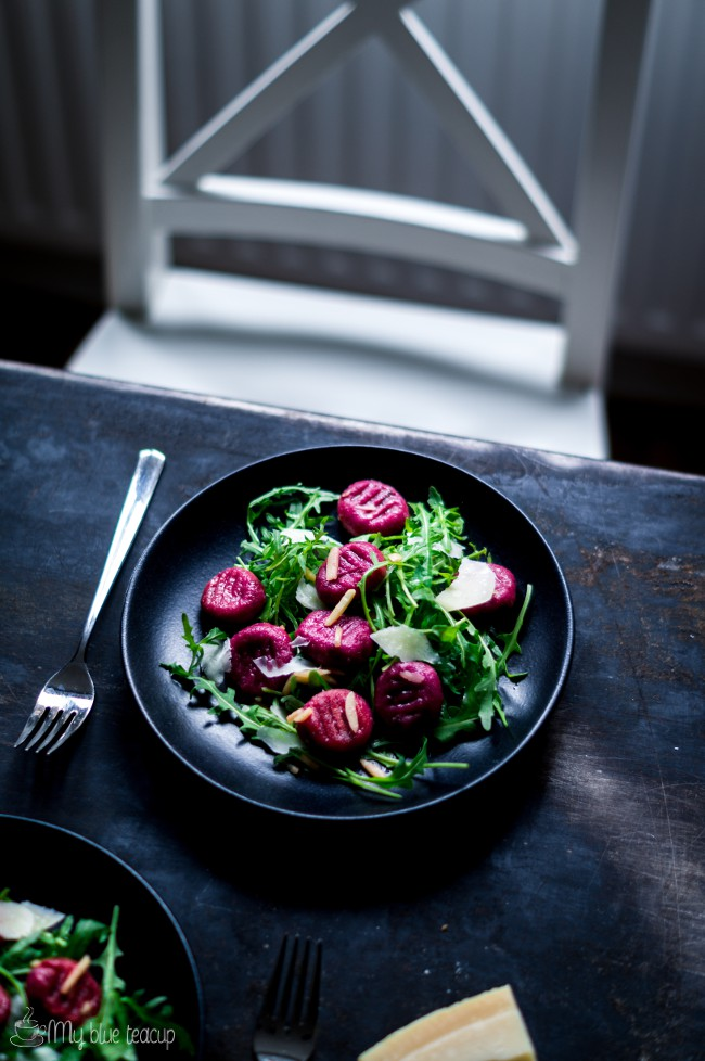 how to make gnocchi with beetroot